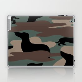 Camo Weiner Dogg Laptop & iPad Skin
