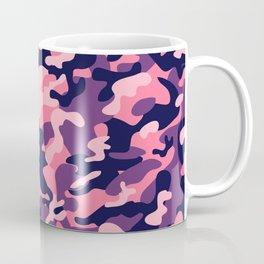 Pink Purple Camouflage Coffee Mug