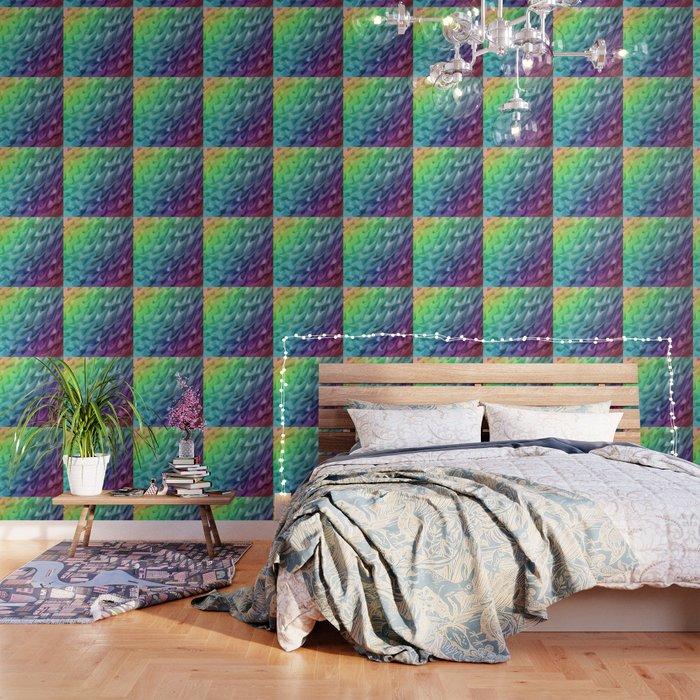 Rainbow Mermaid Skin Wallpaper By Emilyhunterhigging