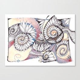 Leaf those shells alone! Canvas Print