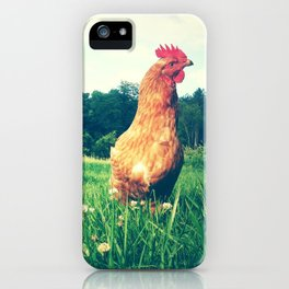 The Life of a Chicken iPhone Case