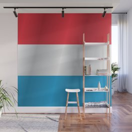 Flag of Luxembourg Wall Mural