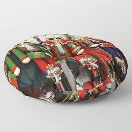 Nutcracker Soldiers Floor Pillow