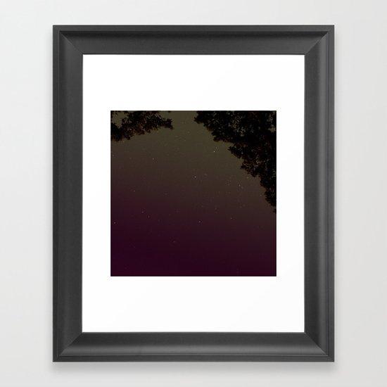 Tonight Framed Art Print