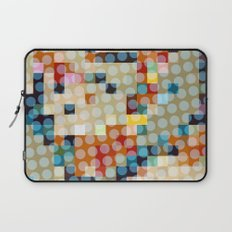 dots meet pixels Laptop Sleeve