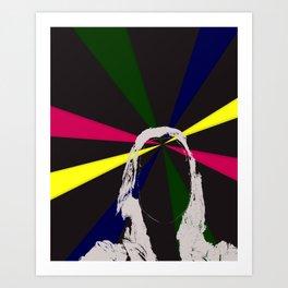 Tory Light Head Art Print