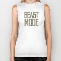 depeche mode Biker Tanks featuring Beast Mode by Art Lahr