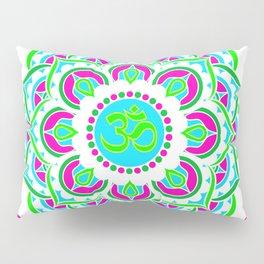 Spring Mandala   Flower Mandhala Pillow Sham
