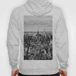 where dreams are made of (black and white) Hoody