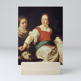 Bernardo Strozzi - Salome (1630) Mini Art Print