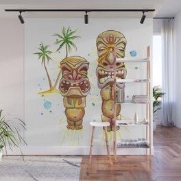 Freaky Tiki Wall Mural