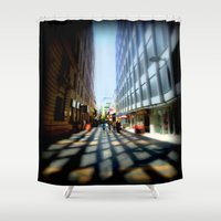 australia Shower Curtains featuring Adelaide - Australia by Chris' Landscape Images & Designs