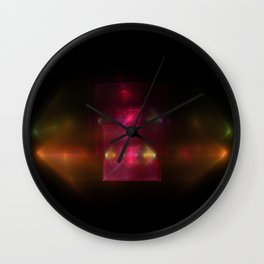 Lights in Space Wall Clock
