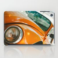 volkswagon iPad Cases featuring Buggin' out by dnlamria