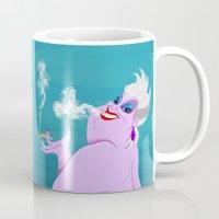 ursula Mugs featuring Stoner Ursula by Fransisqo82