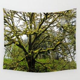 Rainy Drive Through Oregon Wall Tapestry