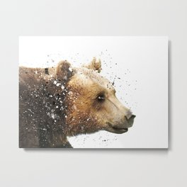 Bear Portrait #1 Metal Print