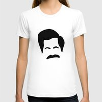 parks and rec T-shirts featuring Ron Swanson Parks & Recreation by Sutton Long