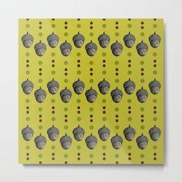 A-Corny Lil Pattern Metal Print