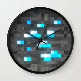 MC Diamond Block Wall Clock