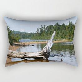 Peacefull Lake in Canada Rectangular Pillow