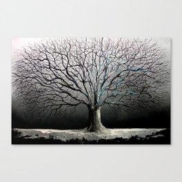 Iced Canvas Print