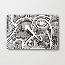 flechas Metal Print