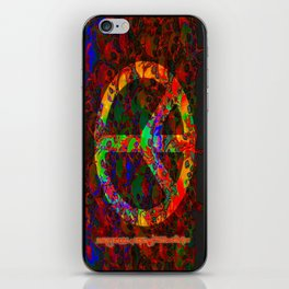 PEACE SKULLS iPhone Skin