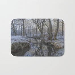Reflections in the Stream Bath Mat