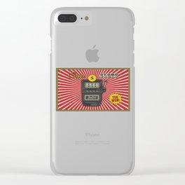 Super Slot Machine Nevada Day Clear iPhone Case