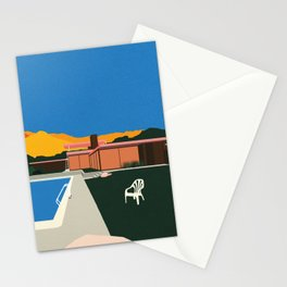 Kaufmann Desert House Poolside Stationery Cards