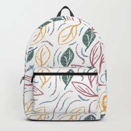 Fall Leaves Blowing In The Wind Backpack