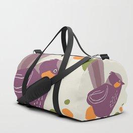 Quirky Superb Fairywren Duffle Bag