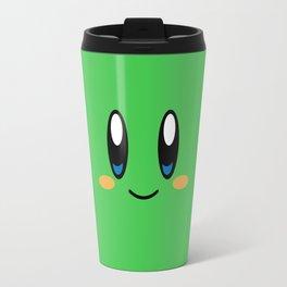 Kirby Face (Green) Travel Mug