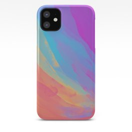full color summer iPhone Case
