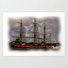 the Tall Ships Art Print