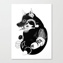 Volf Canvas Print