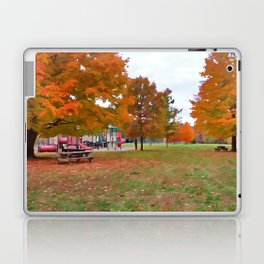 Autumn Playground Laptop & iPad Skin