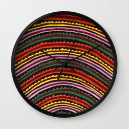 Mola Sunset Wall Clock