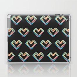 le coeur impossible (pattern) Laptop & iPad Skin