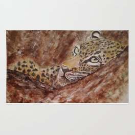 Leopard Thoughts Rug