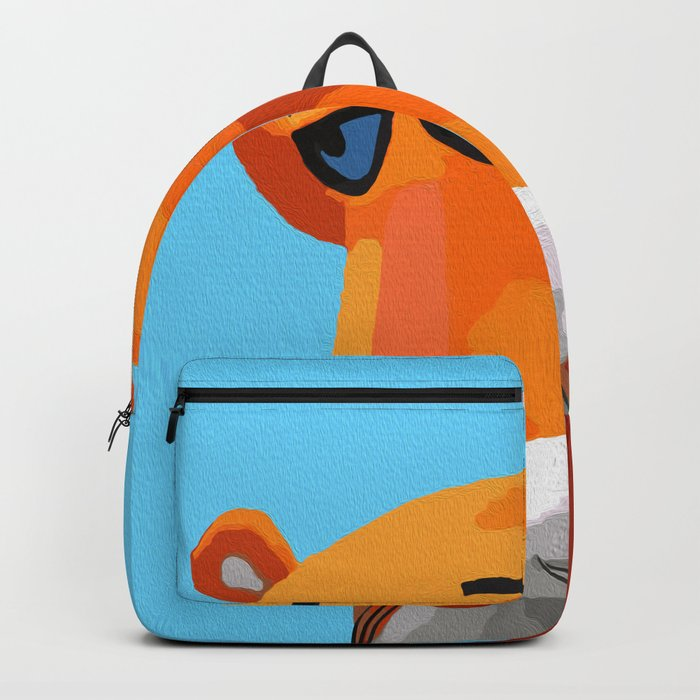 Happy Panther Backpack