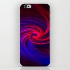 Neon Swirls iPhone & iPod Skin