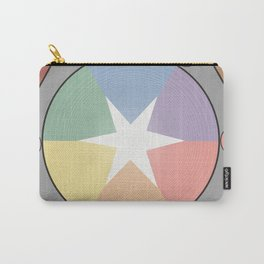 Babbitt's Chromatic Harmony of Gradation and Contrast, 1878, Remake, Interpretation Carry-All Pouch