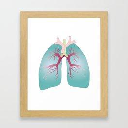 Lung Framed Art Print
