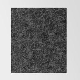 Dead of Night Cobwebs Throw Blanket