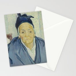 An Old Woman of Arles Stationery Cards