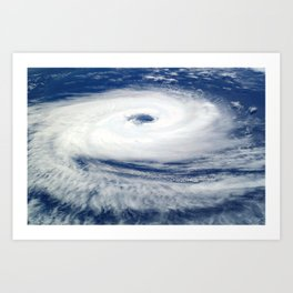 Hurricane Catarina atlantic tropical cyclone Art Print