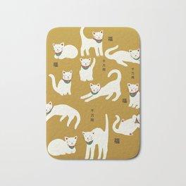 lucky cats Bath Mat