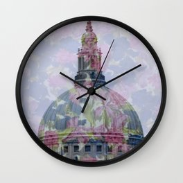 Spring at St Paul Wall Clock